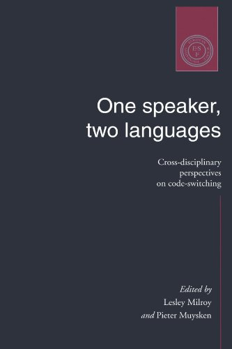 9780521479127: One Speaker, Two Languages: Cross-Disciplinary Perspectives on Code-Switching