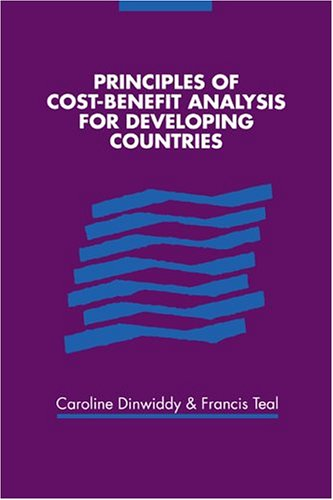 9780521479165: Principles of Cost-Benefit Analysis for Developing Countries