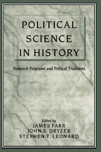Political Science in History: Research Programs and