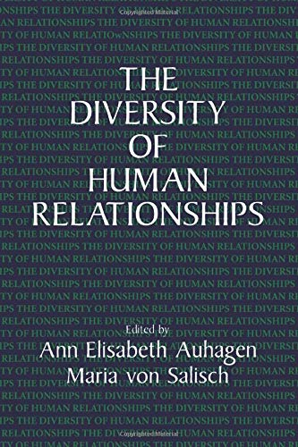 9780521479837: The Diversity of Human Relationships
