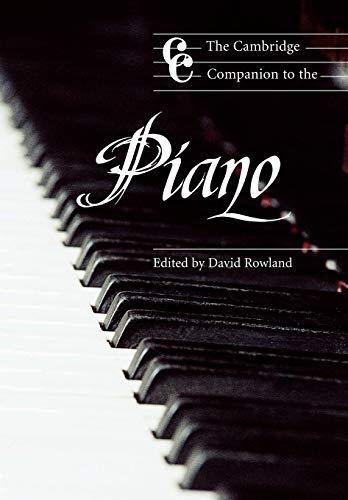 9780521479868: The Cambridge Companion to the Piano Paperback (Cambridge Companions to Music)