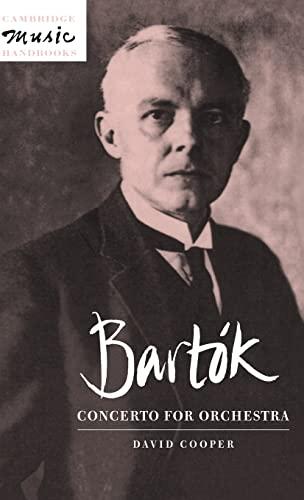 9780521480048: Bartók: Concerto for Orchestra Hardback (Cambridge Music Handbooks)