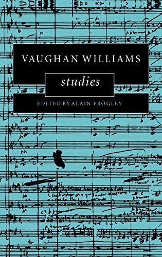 9780521480314: Vaughan Williams Studies (Cambridge Composer Studies)