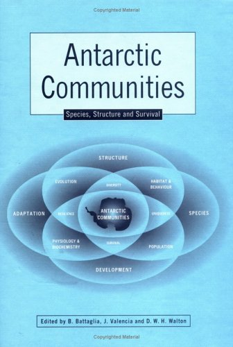 9780521480338: Antarctic Communities: Species, Structure and Survival