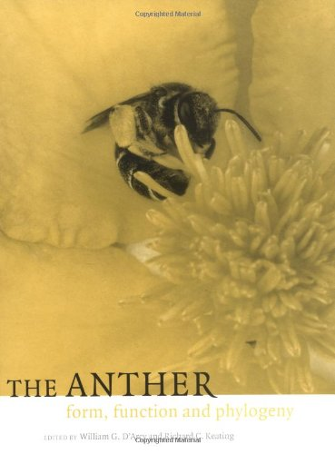 9780521480635: The Anther: Form, Function and Phylogeny