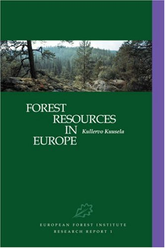 9780521480765: Forest Resources in Europe 1950-1990 (European Forest Institute Research Report, 1)