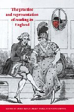 9780521480932: The Practice and Representation of Reading in England