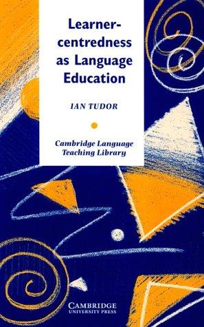 9780521480970: Learner-centredness as Language Education (Cambridge Language Teaching Library)