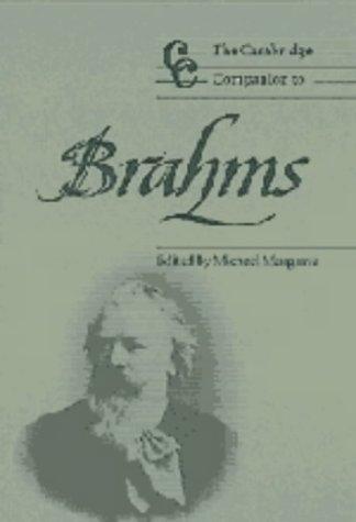9780521481298: The Cambridge Companion to Brahms (Cambridge Companions to Music)