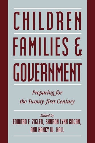 9780521481953: Children, Families, and Government: Preparing for the Twenty-First Century