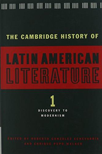 9780521482400: The Cambridge History of Latin American Literature 3 Volume Hardback Set