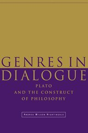 9780521482646: Genres in Dialogue: Plato and the Construct of Philosophy