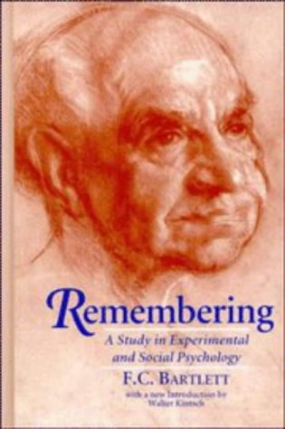 9780521482783: Remembering: A Study in Experimental and Social Psychology