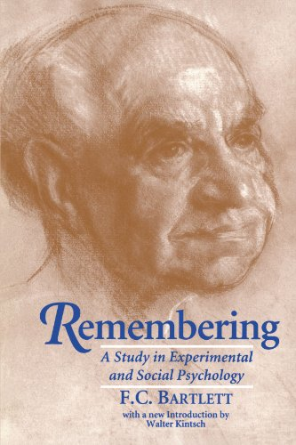 9780521483568: Remembering: A Study in Experimental and Social Psychology
