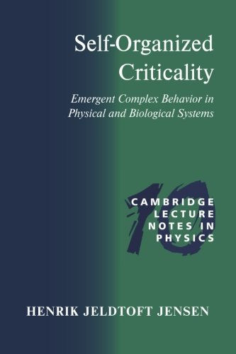 9780521483711: Self-Organized Criticality: Emergent Complex Behavior in Physical and Biological Systems (Cambridge Lecture Notes in Physics)
