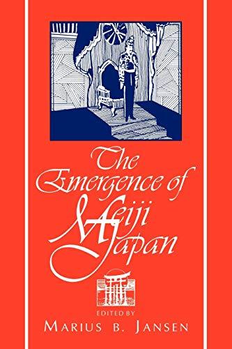 9780521484053: The Emergence of Meiji Japan (Cambridge History of Japan)
