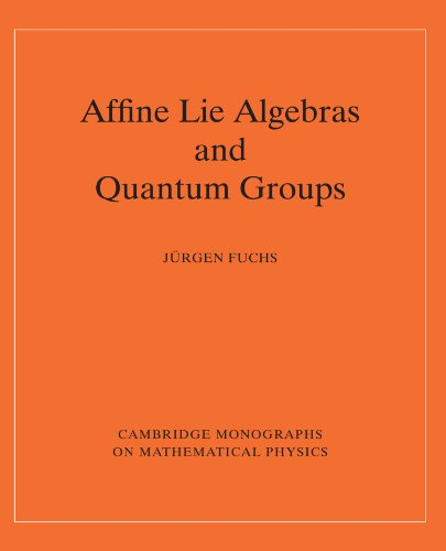 9780521484121: Affine Lie Algebras and Quantum Groups: An Introduction, with Applications in Conformal Field Theory