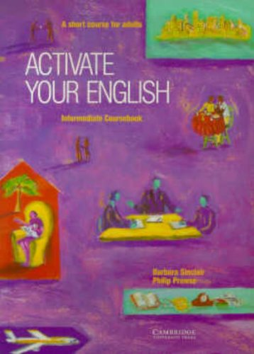 9780521484206: Activate your English Intermediate Coursebook: A Short Course for Adults