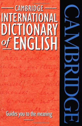 9780521484213: Cide cambridge international dictionary of english