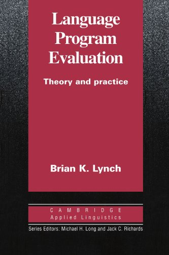 9780521484381: Language Program Evaluation: Theory and Practice (Cambridge Applied Linguistics)