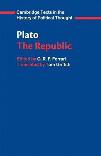 9780521484435: Plato: 'The Republic'