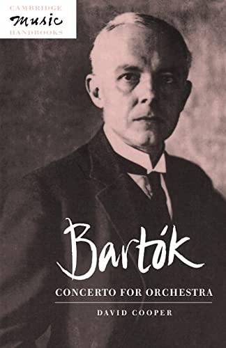 9780521485050: Bartók: Concerto for Orchestra (Cambridge Music Handbooks)