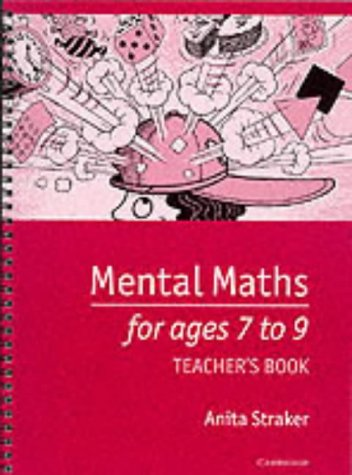 9780521485098: Mental Maths for Ages 7 to 9 Teacher's book