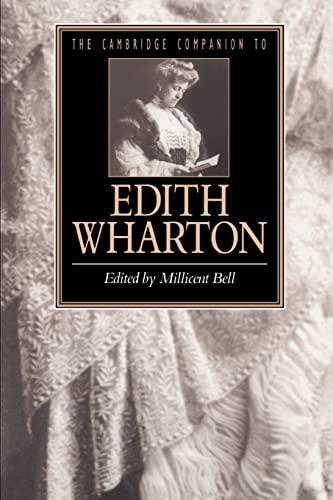 9780521485135: The Cambridge Companion to Edith Wharton Paperback (Cambridge Companions to Literature)