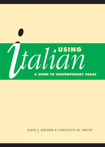 9780521485562: Using Italian Paperback: A Guide to Contemporary Usage