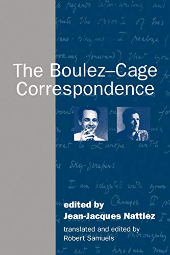 9780521485586: The Boulez-Cage Correspondence