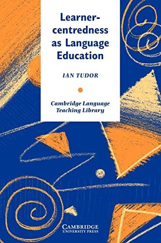 9780521485609: Learner-centredness as Language Education (Cambridge Language Teaching Library)