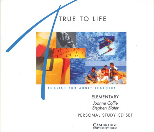 9780521485746: True to Life Elementary Personal study audio CD: English for Adult Learners