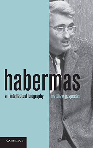 9780521488037: Habermas: An Intellectual Biography