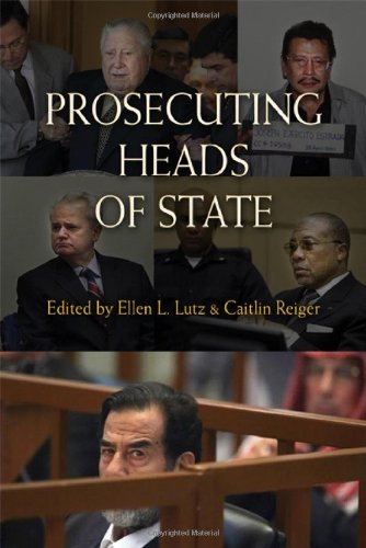 9780521491099: Prosecuting Heads of State