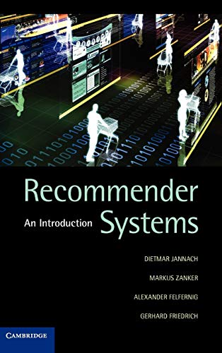 9780521493369: Recommender Systems: An Introduction