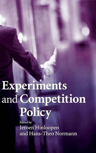 9780521493420: Experiments and Competition Policy