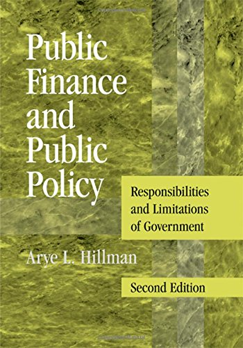 9780521494267: Public Finance and Public Policy: Responsibilities and Limitations of Government