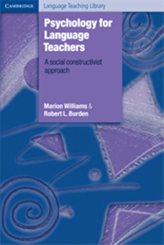 9780521495288: Psychology for Language Teachers: A Social Constructivist Approach (Cambridge Language Teaching Library)