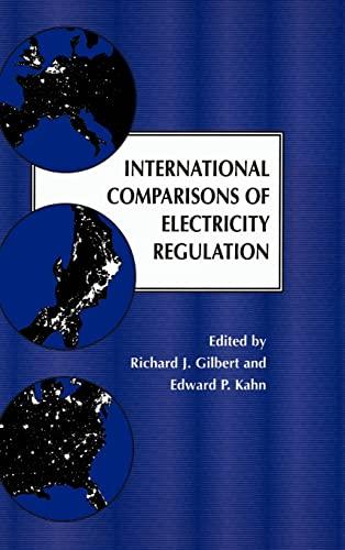 International Comparisons of Electricity Regulation: Gilbert, Richard J.