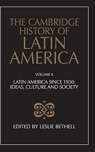 9780521495943: The Cambridge History of Latin America (Volume 10)