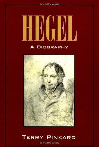 9780521496797: Hegel: A Biography