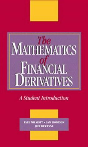 9780521496995: The Mathematics of Financial Derivatives: A Student Introduction