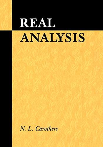 9780521497565: Real Analysis