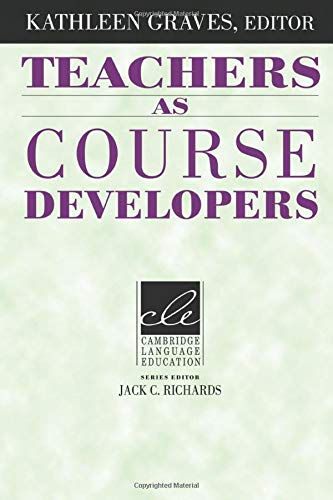 9780521497688: Teachers as Course Developers (Cambridge Language Education)