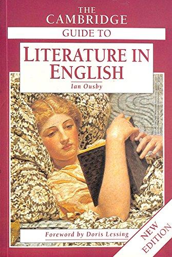 9780521497787: The Cambridge Guide to Literature in English