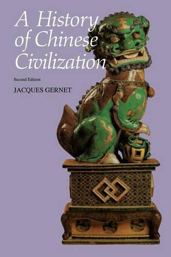 A History of Chinese Civilization