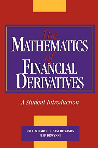 9780521497893: The Mathematics of Financial Derivatives: A Student Introduction