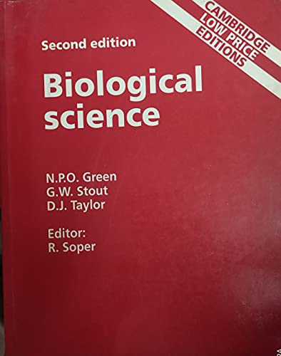 9780521498555: Biological science (Cambridge low price editions)