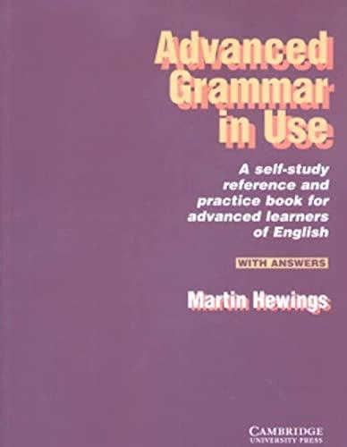 9780521498685: Advanced grammar in use. With answers. Per le Scuole superiori