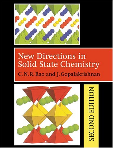 9780521499071: New Directions in Solid State Chemistry 2nd Edition Paperback